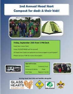 2nd Annual Arvada Head Start Campout